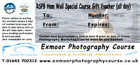 GIFT VOUCHER RSPB HAM WALL SPECIAL £159.00