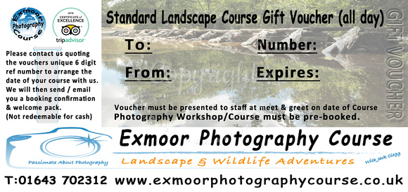STD COURSE VOUCHER £149.00